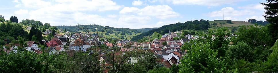 Frammersbach im Lohrbachtal im Spessart