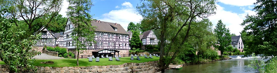 Hotel Neumühle in Diebach