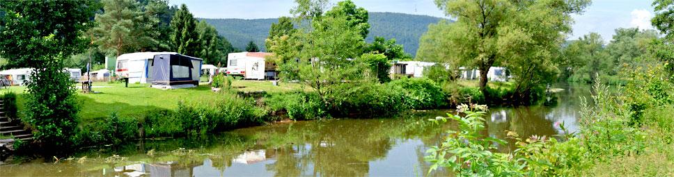 Campingplatz Saaleinsel in Gemünden am Main