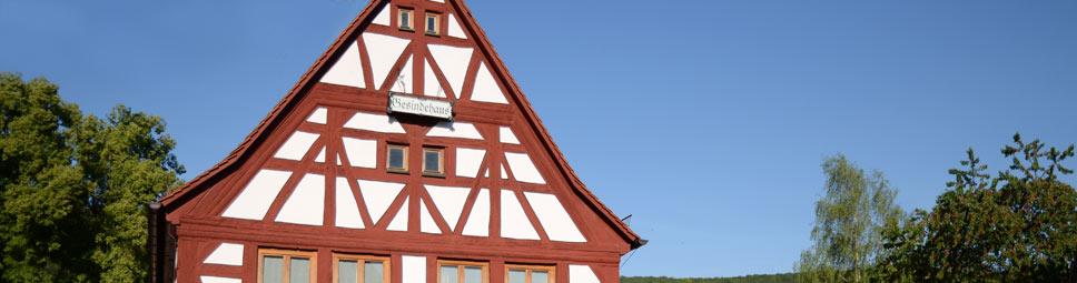 Gesindehaus in Burgsinn im Sinngrund