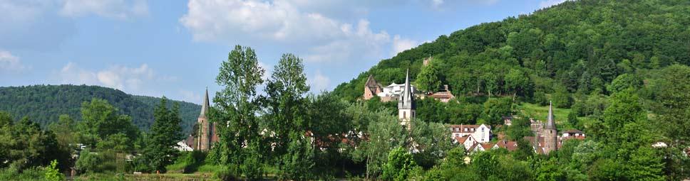 Drei Flüsse Stadt Gemünden