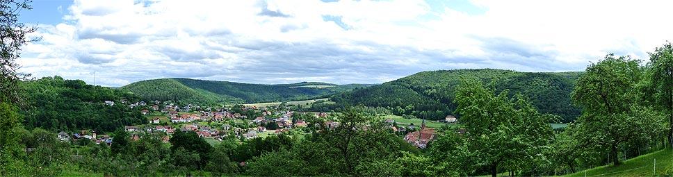 Fränkisches Saaletal bei Gräfendorf