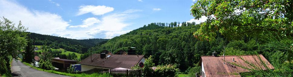 Heckmühle, der kleine Weiler im Schondratal