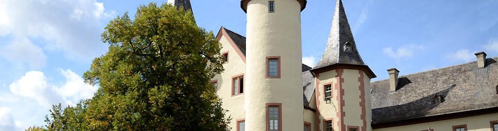 Schloss mit Spessartmuseum in Lohr