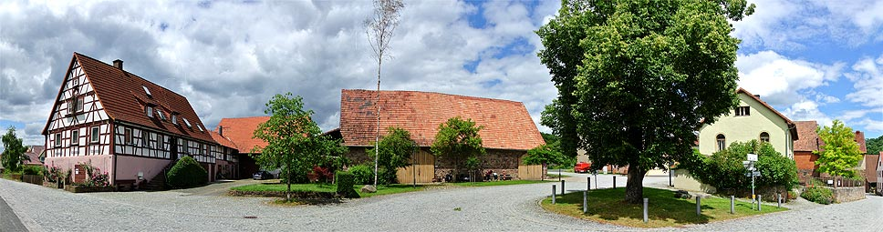 Morlesau im Fränkischen Saaletal
