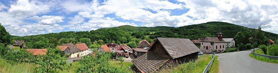 Morlesau gilt als typisch fränkisches Dorf
