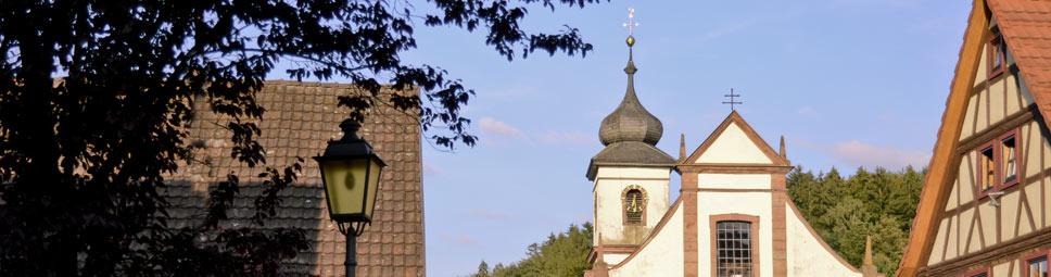Wallfahrtskirche in Rengersbrunn