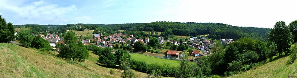 Spessartidylle im Sinderbachstal