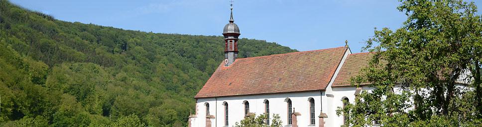 Klosterkirche Schönau - Wahrzeichen des Orts