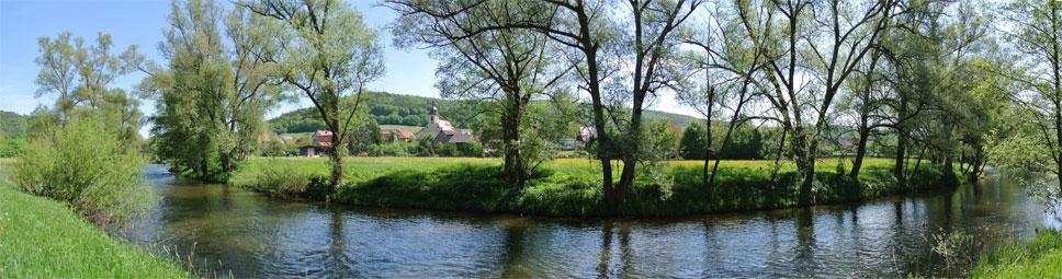Schonderfeld im fränkischen Saaletal