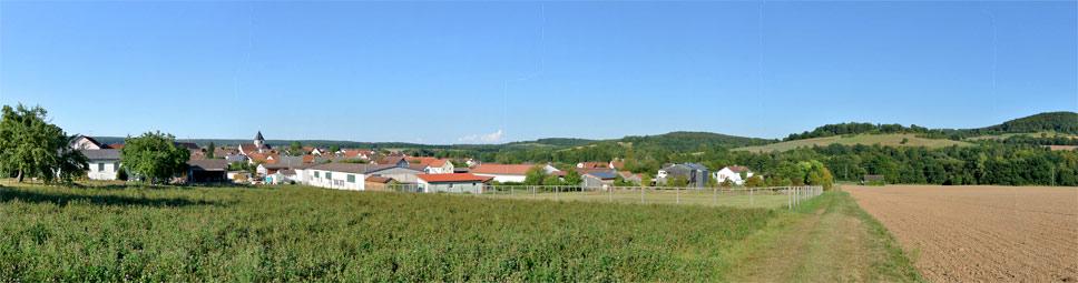 Thulba zwischen Rhön und Fränkischem Weinland