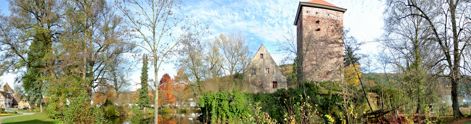 Historie in Burgsinn: Das Wasserschloss im Spessart