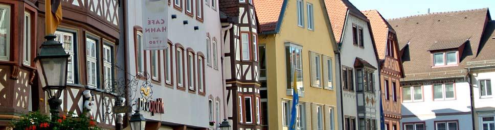 Marktplatz in Wertheim