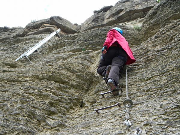Klettersteig Roen : Klettersteig im spessart erleben