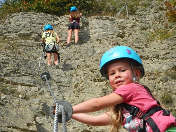 Klettersteig Für Kinder : Klettersteig im spessart erleben