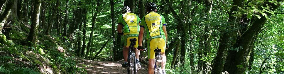 Radfahren im Spessart hat viele Facetten