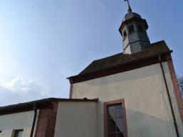 Ortskirche in Aura im Sinngrund