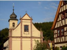 Gotteshaus in  Rengersbrunn