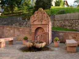 Marienbrunnen in Rengersbrunn