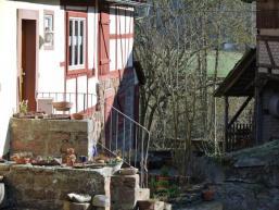 Fränkischer Bauernhof an der Saale