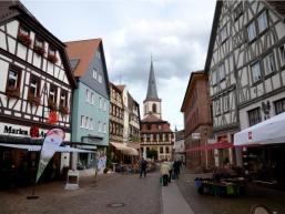 Historische Altstadt in Lohr am Main