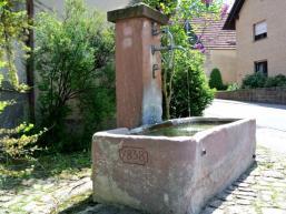 Wasser als Lebensenergie - Dorfbrunnen in Weikersgrüben