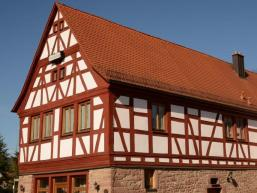 Typisch für Franken - alte Fachwerkhäuser