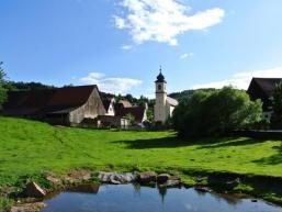 Rengersbrunn mit Wallfahrtskirche