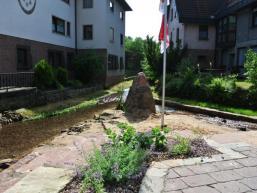 Dorfplatz der Generationen in Fellen