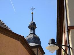 Die Kirchtumspitze in Schonderfeld