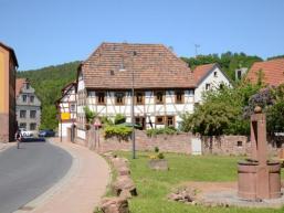 Dorfplatz in Gräfendorf