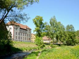Ansicht des Gemeindehauses in Gräfendorf
