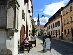 Hammelburg und Wein