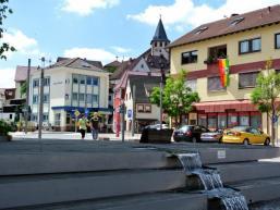 Ortsmitte von Frammersbach