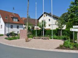 Ortsplatz in Nantenbach