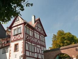 Aufgang zum Burgberg von Rieneck