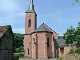 Kirche wurde dem Hl. Wendelin geweiht