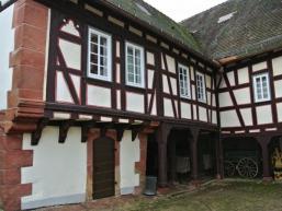 Heute Museum, das frühere Amtshaus in Steinau