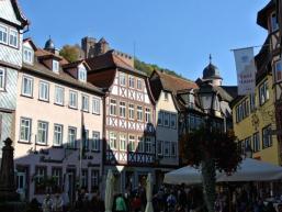 Altstadt und Burg Wertheim