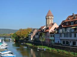 Wertheims Ufer an der Tauber