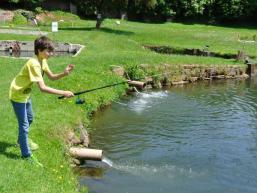 Am Fischteich im Spessart