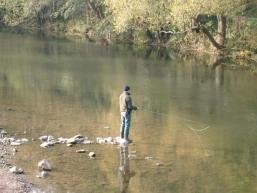 Angelvergnügen am Wasser