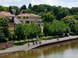 Der Main ist Teil von Aschaffenburg
