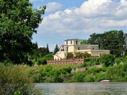 Wunderschön am Main gelegen: Pompejanum Aschaffenburg