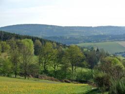 Wald und Wiesen rund um Aura