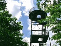 Beliebtes Ausflugsziel: Dreistelz Aussichtsturm