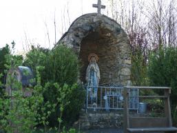 Marienfigur an der Kreuzkapelle Rieneck