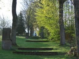 Aufstieg zur Kreuzkapelle Rieneck