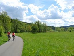 Radweg Richtung Rieneck