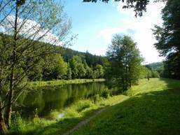 Abendstimmung am Sindersbachsee